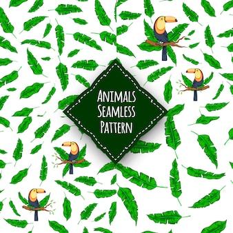 Wzór zwierzęta