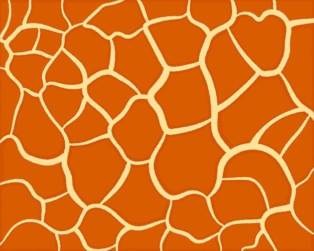 Wzór żyrafa. abstrakcyjny wzór geometryczny. tło skóry zwierząt. modna stylowa tapeta.