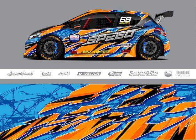 Wzory barw samochodów wyścigowych