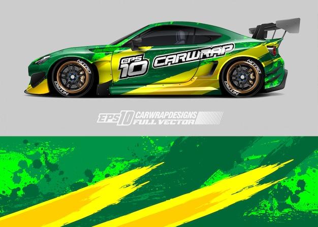 Wzory barw samochodów