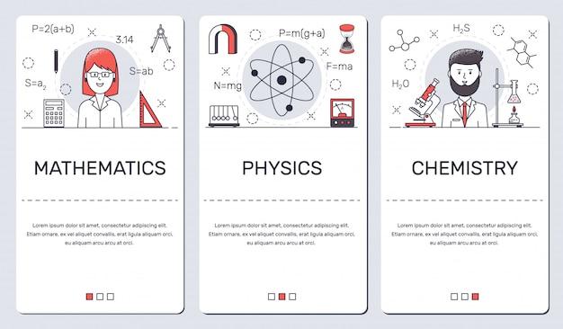 Wzory dla telefonu na temat matematyki