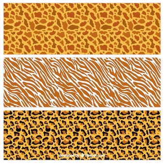Wzory druku dzikie zwierzę