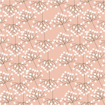 Wzory kwiatów, liści i liści