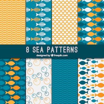 Wzory morze