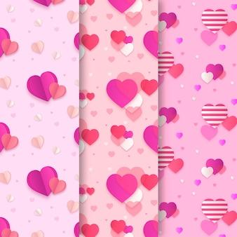 Wzory słodkie serce