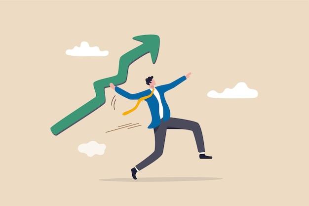 Wzrost i poprawa biznesu mają na celu szybki wzrost na giełdzie