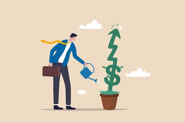 Wzrost inwestycji lub rozwój biznesu