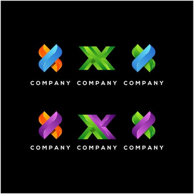 X początkowe logo