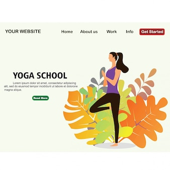 Yoga School Studio.