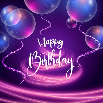 Z okazji urodzin napis