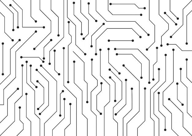Zaawansowany technicznie technologii geometryczny tło
