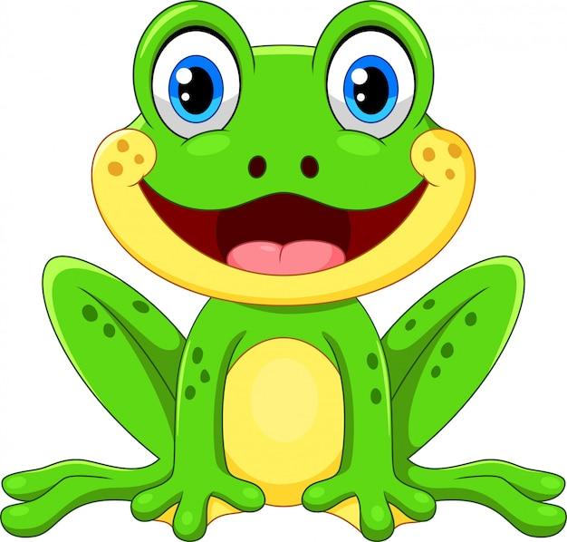 Żaba kreskówka