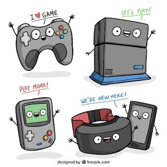 Zabawa konsole