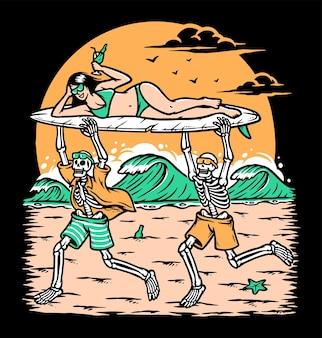 Zabawa na plaży?