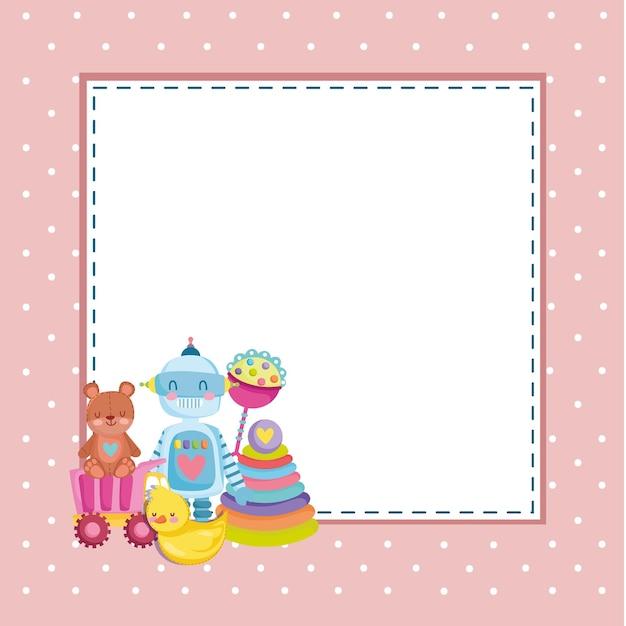 Zabawki dla dzieci bear robbot