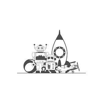 Zabawki dla dzieci dzieci, logo