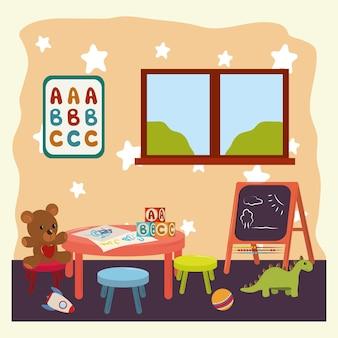 Zabawki do pokoju zabaw