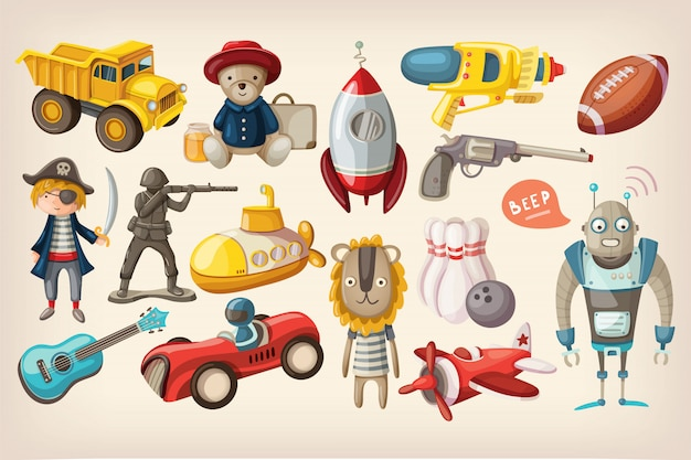 Zabawki do zabawy