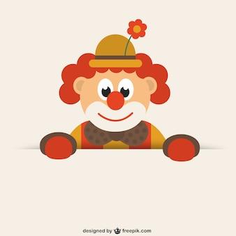 Zabawna klaun