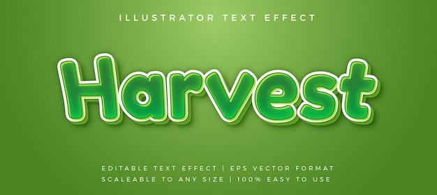 Zabawny efekt czcionki w stylu zielonego tekstu