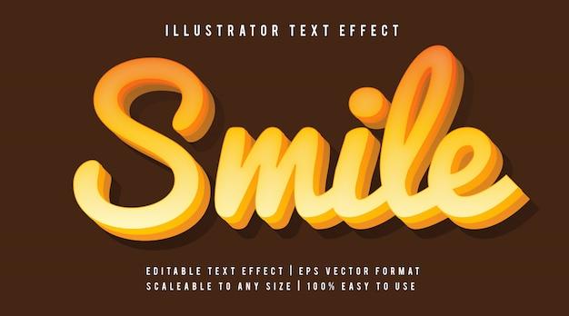 Zabawny efekt odręcznego tekstu odręcznego