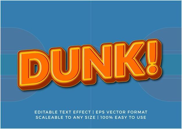Zabawny efekt tekstowy w tytule motywu koszykówki
