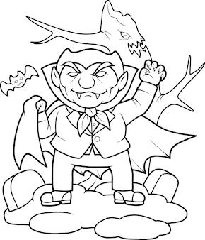 Zabawny wampir