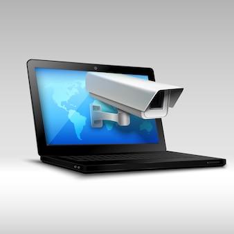 Zabezpieczenia internetowe laptopa