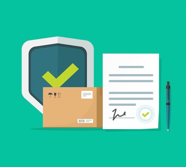 Zabezpieczenie dostawy ładunku i ochrony transportu paczki