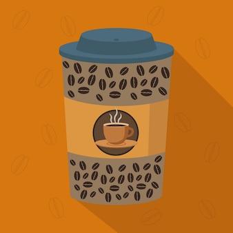 Zabierz kubek kawy projekt