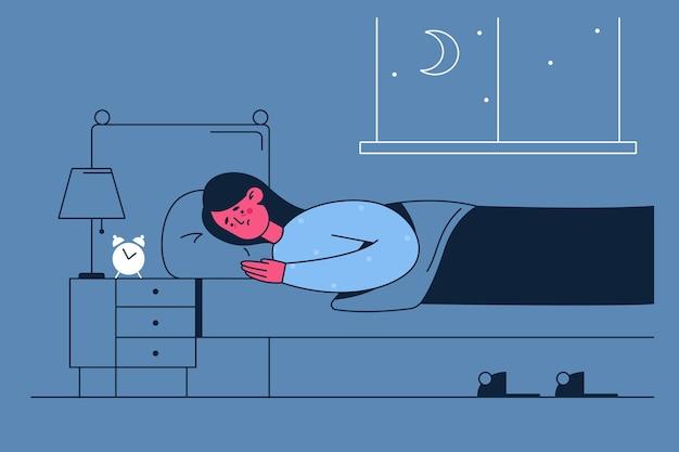 Zaburzenia snu, koncepcja bezsenności