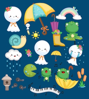 Żaby, ślimaki i lalki pogodowe