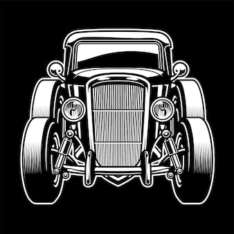 Zabytkowy stary starożytny samochód