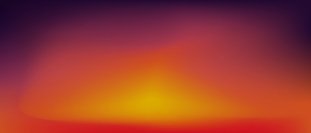 Zachód słońca tło gradientowe.