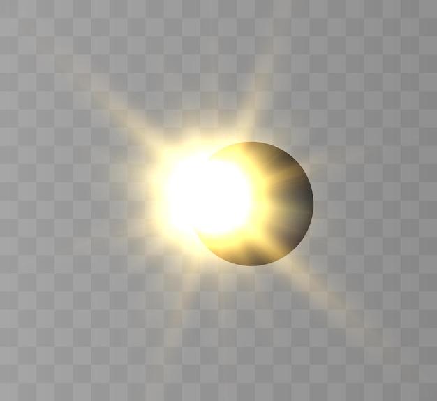 Zaćmienie słońca częściowe zaćmienie słońca
