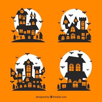 Zaczarowana halloween domy