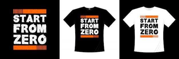 Zacznij od projektu koszulki bez typografii