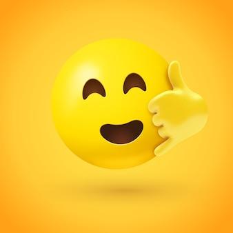 Zadzwoń do mnie ilustracja emoji
