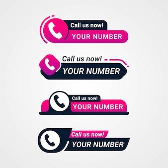Zadzwoń do nas teraz przycisk