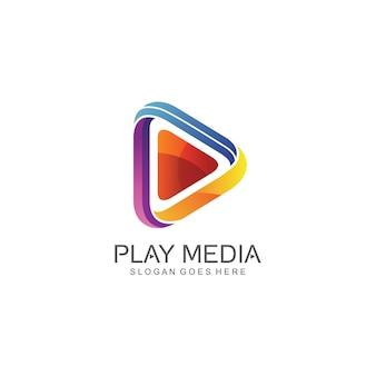 Zagraj w logo ikony