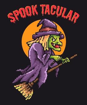 Zainspirowany klasycznym tytułem horroru zombie w stylu pixel art.