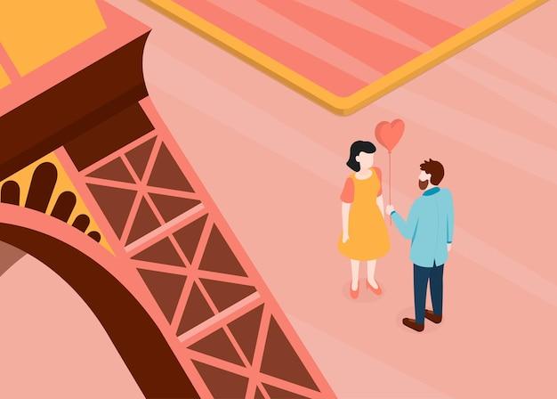 Zakochana para randki