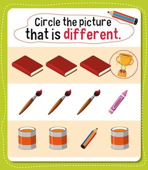 Zakreśl zdjęcie przedstawiające inną aktywność dla dzieci