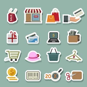 Zakupy ikony