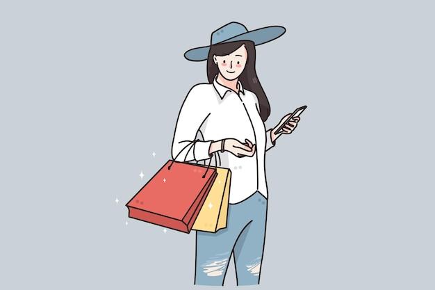 Zakupy koncepcja sprzedaży i rabatów