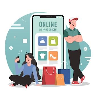 Zakupy online i koncepcja dostawy