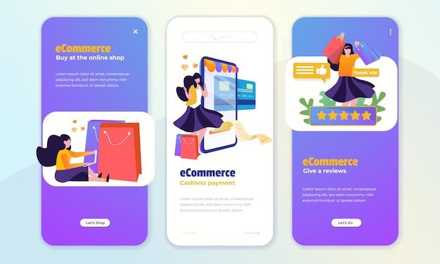 Zakupy online i opinie klientów na temat koncepcji ekranu pokładowego