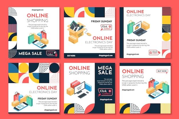 Zakupy online na instagramie