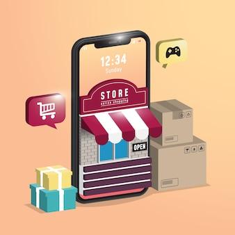 Zakupy online w aplikacji mobilnej