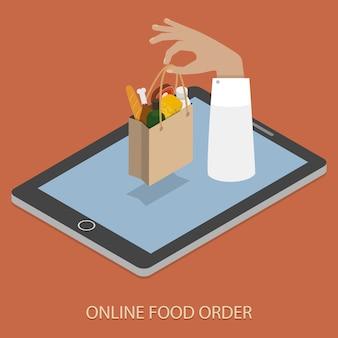 Zamawianie pożywienia online